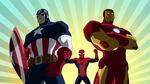 Ironman&Captain America-Ultimate Spider-Man