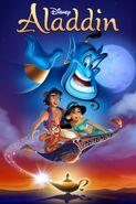 Aladdin Digital Copy Poster