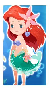 File:Ariel Costume Kingdom Hearts χ.png