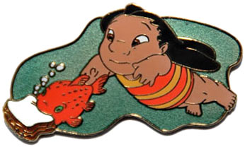 File:DCL - Pin Trading Under The Sea - Lilo with Pudge - Pursuit Pin