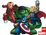 Lego Avengers Big 4 team