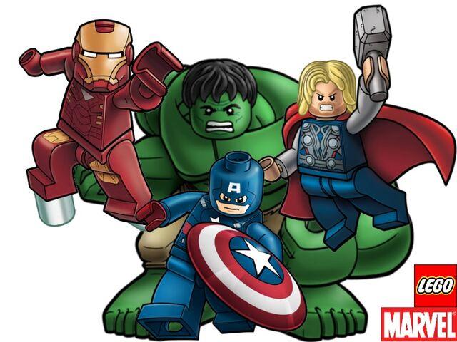 File:Lego Avengers Big 4 team.jpg