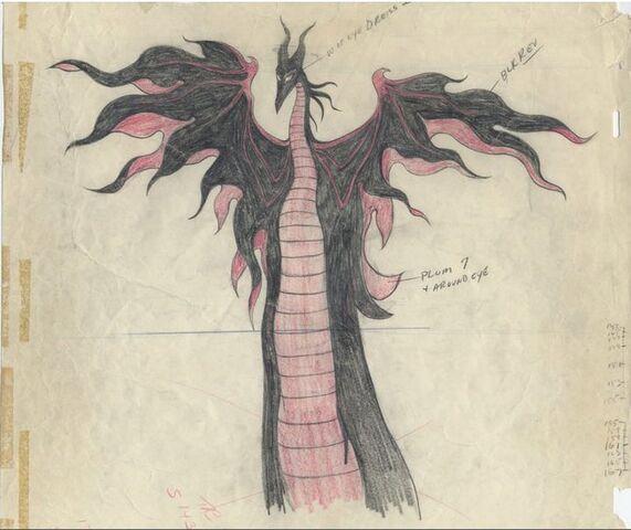 File:Maleficent Dragon Transformation Concept Art.jpg