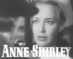 Anne Shirley in Vigil in the Night trailer