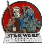 Count Dooku and Jango Fett Pin