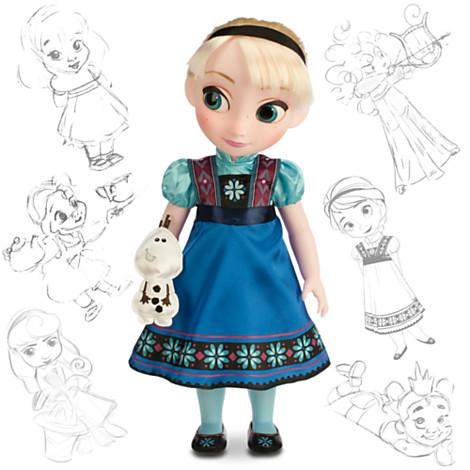 File:Frozen Elsa 2014 Disney Animators Doll.jpg