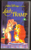 Lady & the tramp uk vhs