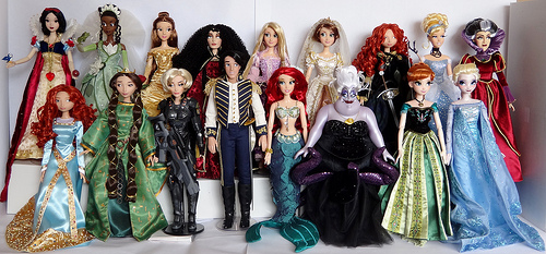 File:Whole bunch of disney dolls.jpg