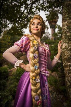 Tangled Anniversary Rapunzel Disney Parks portrait
