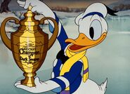 Donald is hockey champ