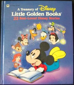 A Treasury of Disney Little Golden Books 2nd Edition Cover