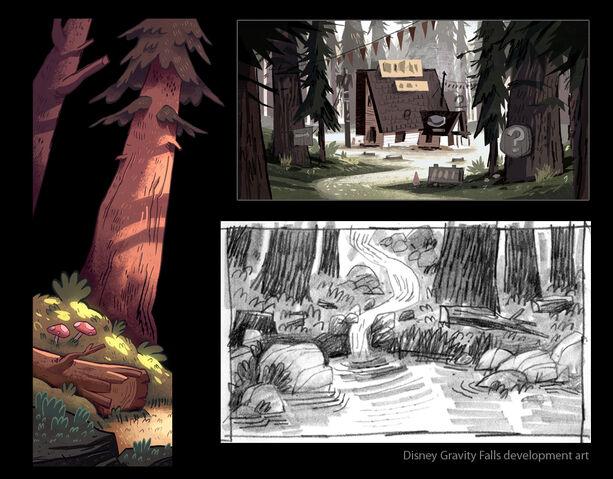 File:Gravity Falls Concept Art 3.jpg