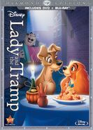 Lady and the TRamp DVD packaging