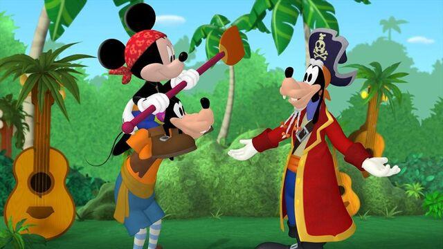 File:Mickey Goofy&Captain Goof-Beard-Mickey Mouse Clubhouse Mickey's Pirate Adventure.jpg