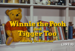Winnie the Pooh and Tigger Too title
