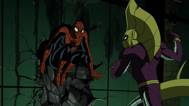 File:Spider-Man VS Death Adder AEMH.png