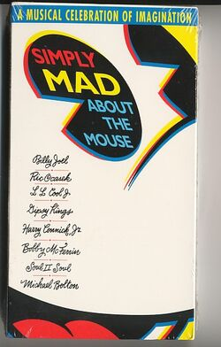 Simply mad about the mouse vhs 2