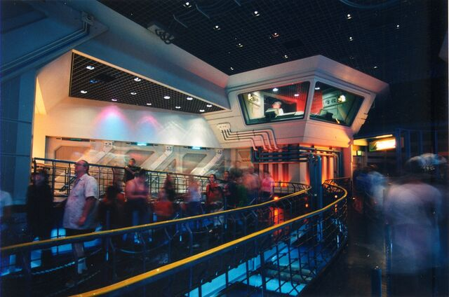 File:Star Tours Queue.jpg