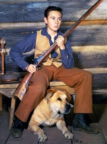 File:Tommy Kirk and Spike.jpg