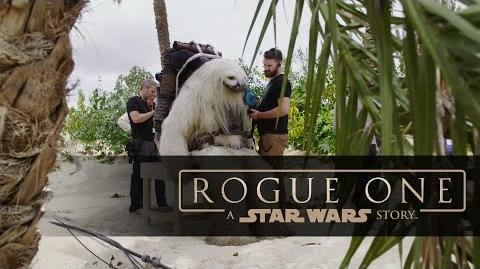 "Rogue One A Star Wars Story ""Creature Featurette"""