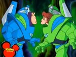 Buzz and Ozma almost kiss