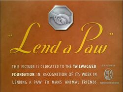 Lend a Paw title card