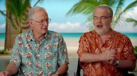 Moana Directors On Set Interview - Ron Clements & John Musker
