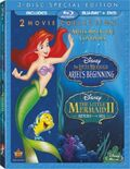 TheLittleMermaid 2-Movie Collection Bluray
