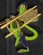 Bill the Lizard Pin