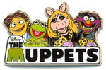 Disney store europe muppets pin