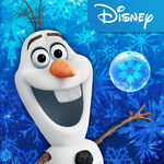 Olaf Frozen Free Fall Art