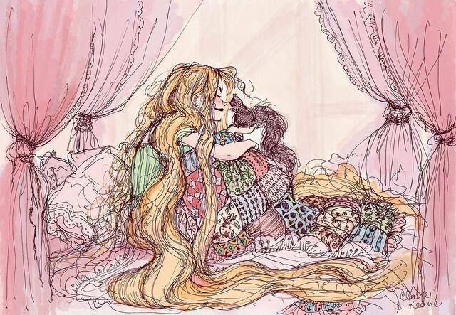 File:Rapunzel Art by Claire Keane 3.jpg