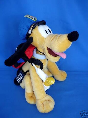 File:Retired Disney Mickey Mouse Pluto Dog Police Officer Security Guard 9 Plush Bean Bag Doll Mint with Tags.jpg