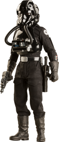 File:Star Wars Imperial TIE Fighter Pilot Sixth-Scale Figure.png