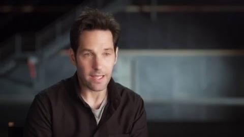 "Captain America Civil War Behind-The-Scenes ""Ant-Man"" Interview - Paul Rudd"