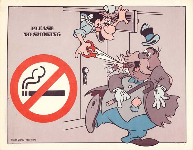 File:Disneyland backstage safety sign no smoking 640.jpg