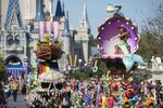 Festival of fantasy characters