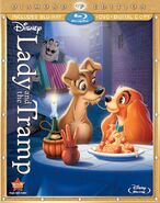 Lady and Tramp Diamond Edition 3 discs