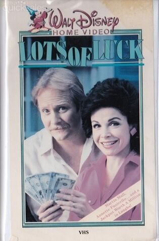 File:Disney's Lots of Luck - VHS Cover.jpg