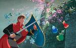 Disney Princess Aurora's Story Illustraition 12