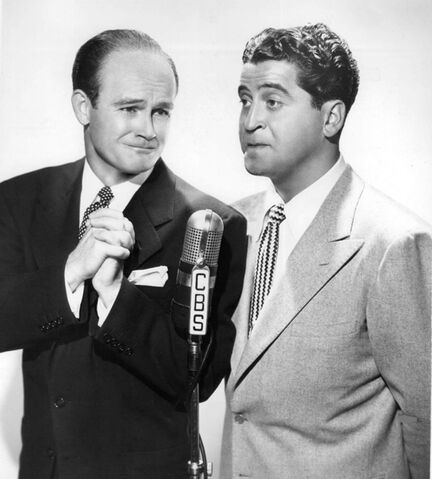 File:Bob Sweeney and Hal March 1946.jpeg