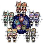 Kingdom Hearts Forteller Keyblade Armors