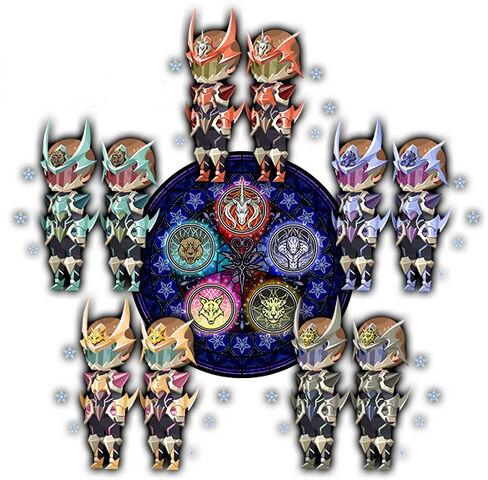 File:Kingdom Hearts Forteller Keyblade Armors.jpg