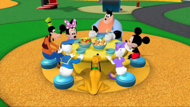 File:Mickey and friends at the table.jpg