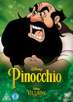Pinocchio Disney Villains 2014 UK DVD