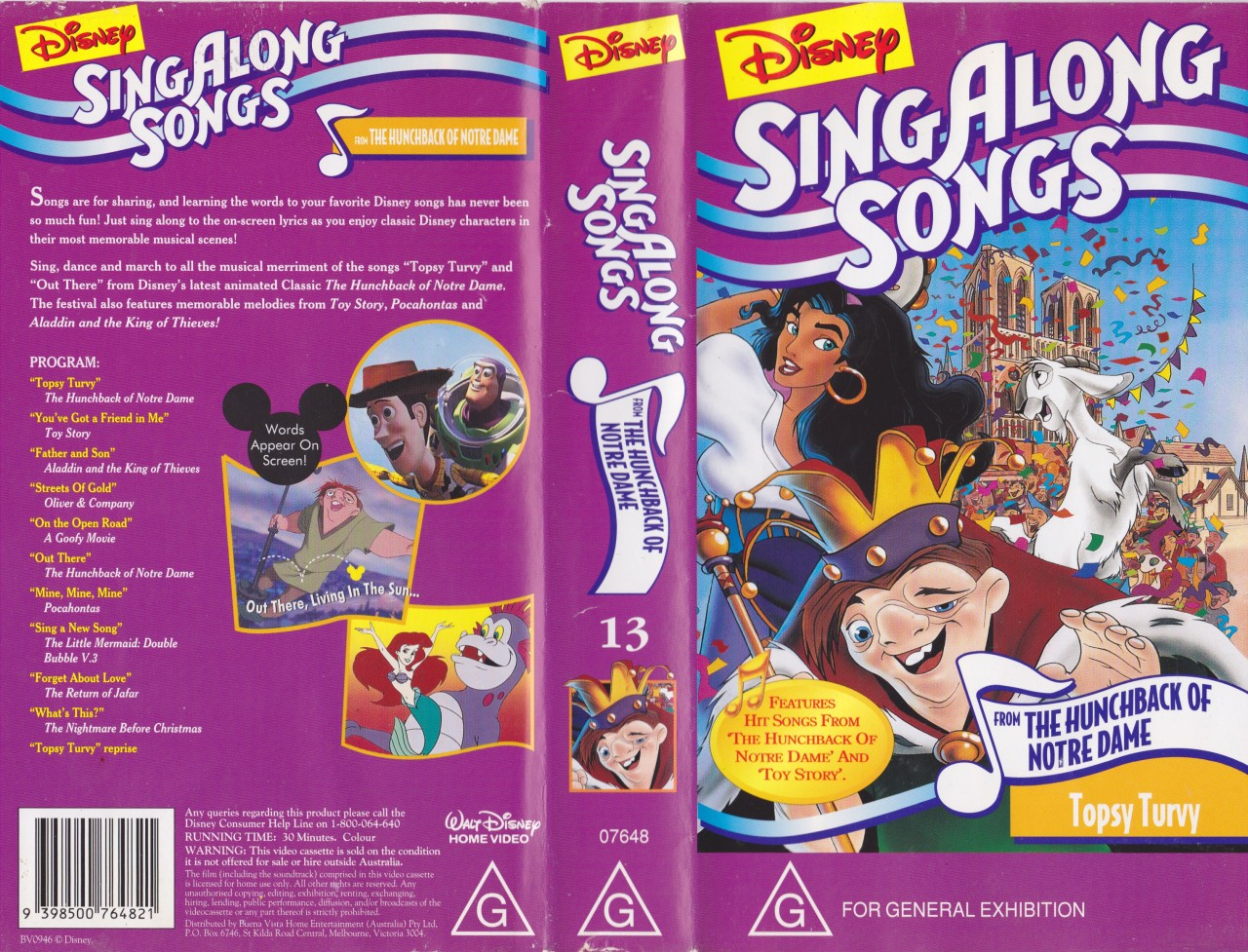 Disney Sing Along Songs Topsy Turvy Disney Wiki