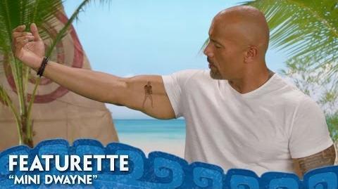 """Mini Dwayne"" Featurette - Moana"