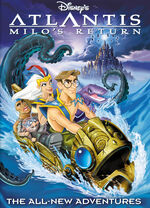 Atlantis Milo's Return Cover