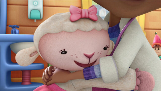 File:Lambie in doc's busy day.jpg
