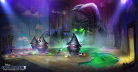Disney Epic Mickey 2 Concept Art Kevin Chin 10